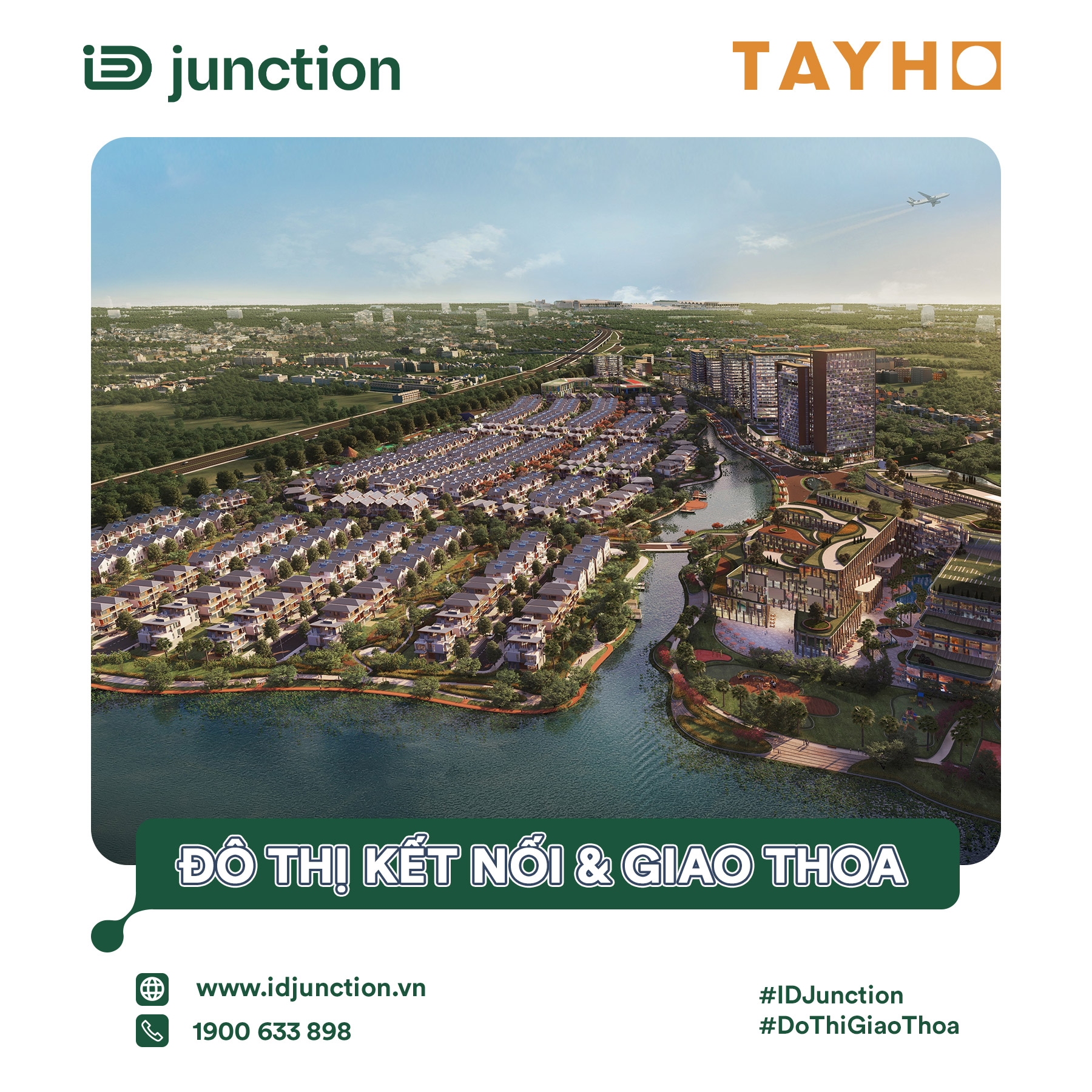 ID Junction - Dự án dẫn đầu xu hướng khu đô thị giao thoa